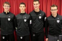 Il Team Trentino Curling capitanato da Amos Mosaner