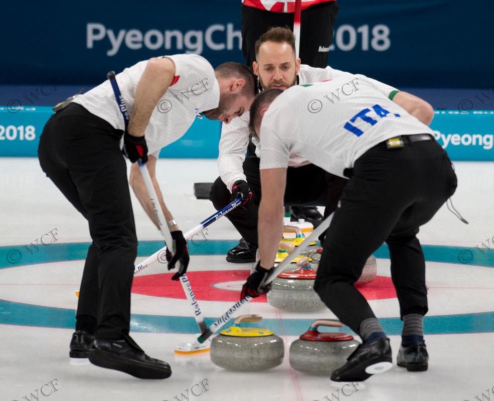 f7650fe7f8 Olimpiadi 2018 Curling maschile  Giappone – Italia 6-5
